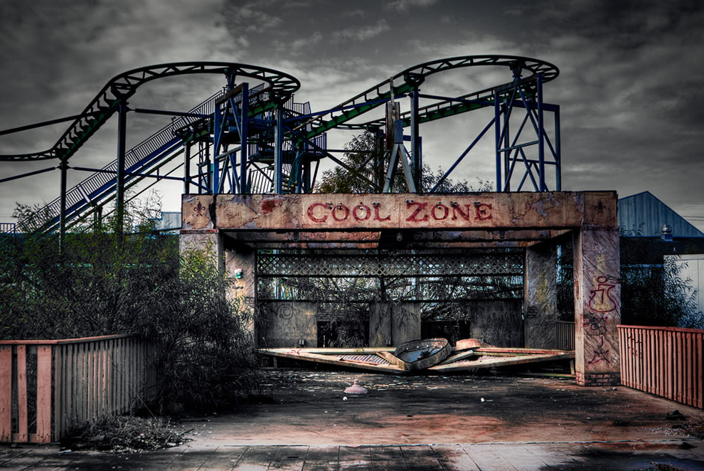Six Flags, Jazzland, New Orleans